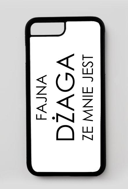 Fajna dżaga ze mnie jest / Doda / etui iphone 7 Plus/8 Plus