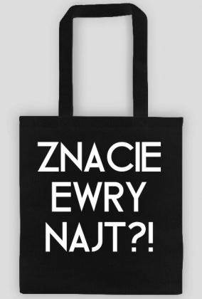 Znacie Ewry Najt? / Mandaryna / torba shopper