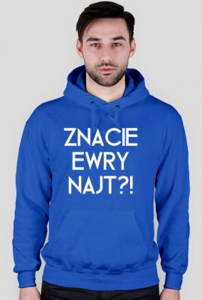 Znacie Ewry Najt?! / Mandaryna / bluza z kapturem