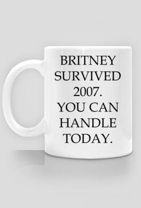 Britney survived 2007 / Britney Spears / kubek