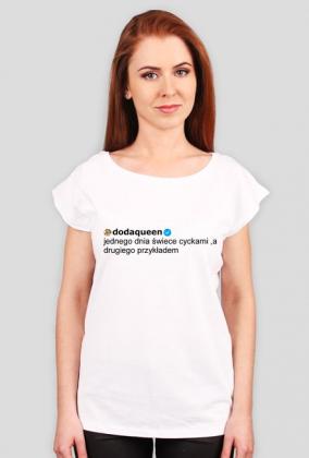 Jednego dnia świece cyckami / Doda / t-shirt regular