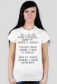 Dumny ty jesteś z siebie? / t-shirt regular