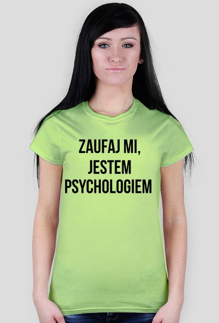 PSYCHOLOG - KOSZULKA DAMSKA