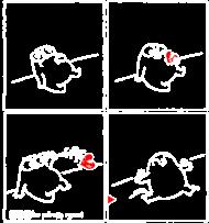 Serce - torba czarna