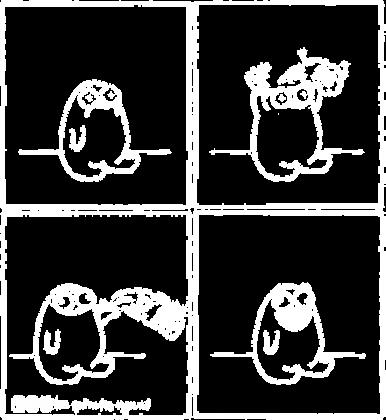 Szczęście - koszulka damska czarna