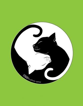 Koty - podkładka pod myszkę