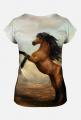 Koszulka damska Konie