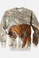 Bluza bez kaptura Tiger 3