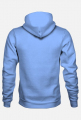 Bluza z kapturem smok 1 niebieska