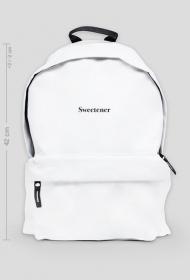 "Duży Biały Plecak ""Sweetener"""