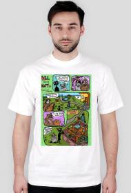 Wróble kontra koty - koszulka