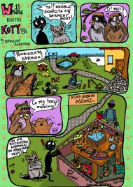 Wróble kontra koty - torba