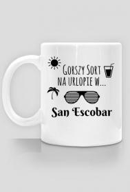 Gorszy Sort na urlopie w San Escobar - kubek