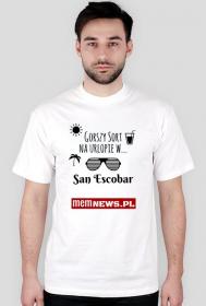 Urlop na San Escobar - męska