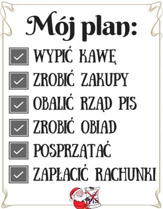 Mój plan