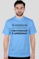 Koszulka od bezdomnego - męska jasna