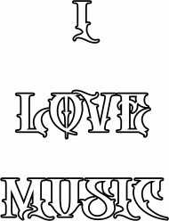I LOVE MUSIC TRAP DUBSTEP HEAVY DROPS