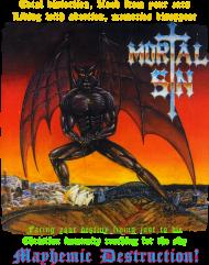 MORTAL SIN - Mayhemic Destruction II