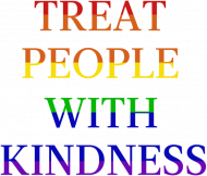 "Koszulka męska ""Harry Styles - Treat People With Kindness Rainbow"""