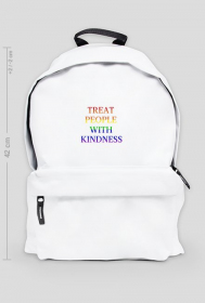 "Plecak ""Harry Styles - Treat People With Kindness Rainbow"""