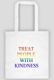 "Torba ""Harry Styles - Treat People With Kindness Rainbow"""