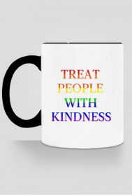 "Kubek ""Harry Styles - Treat People With Kindness"""