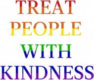 "Przypinki ""Harry Styles - Treat People With Kindness Rainbow"""
