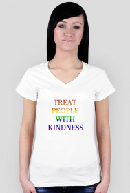 "Koszulka damska ""Harry Styles - Treat People With Kindness Rainbow"""