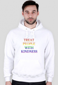 "Bluza męska ""Harry Styles - Treat People With Kindness Rainbow"""