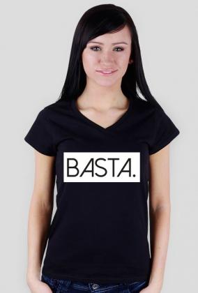Tshirt damski dekolt BASTA
