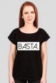 Tshirt damski dekolt w łódeczkę BASTA
