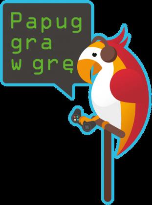 Papug gra w grę