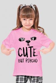 Cute, but Psycho - Koszulka dziecięca