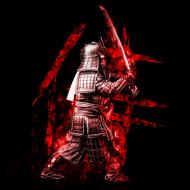 Koszulka z samurajem