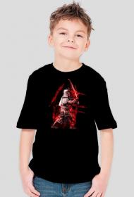 Koszulka dziecięca z samurajem