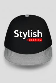 Stylish #スタイリッシュ - Czapka z japońskim napisem
