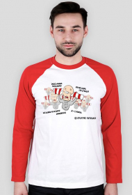 Kibolska poprawna polszczyzna - T-shirt z długim rękawem