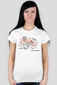 Kibolska poprawna polszczyzna - T-shirt damski
