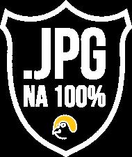 """.JPG NA 100%"" Koszulka dla grafika komputerowego"