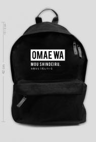 Omae wa mou shindeiru - Plecak Fana Anime (Duży)