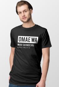 Omae wa mou shindeiru - Koszulka Fana Anime (Męska)