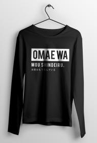 Omae wa mou shindeiru - Bluza Fana Anime (Męska)