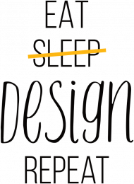 Eat, Sleep, Design, Repeat - Prezent dla grafika komputerowego - Koszulka damska