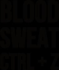Kubek - Prezent dla grafika komputerowego - Blood, sweat, ctrl + z