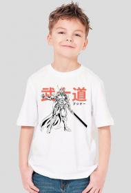 Koszulka z samurajem - Dziecięca