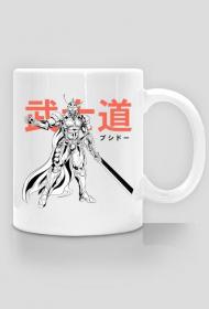 Kubek z samurajem robotem - Prezent dla Otaku / Fana Anime