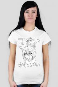 Kawaii - Koszulka Otaku - Prezent dla fana anime