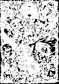Horror Manga - Straszny Nadruk - Prezent dla fana anime / Otaku