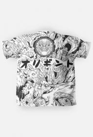 Mangowa Koszulka Fullprint - Harajuku Style Fashion