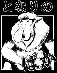 Koszulka Somsiad po japońsku - Somsiad-kun - Koszulka Harajuku (Biała)